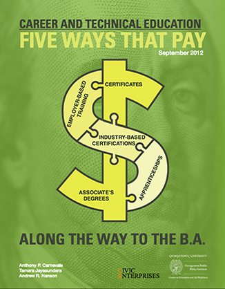 Career and Technical Education: Five Ways That Pay Along the Way to the B.A.