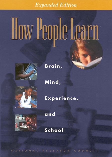 "Click to download free PDF of ""How People Learn"" (2000) from the National Academies Press."